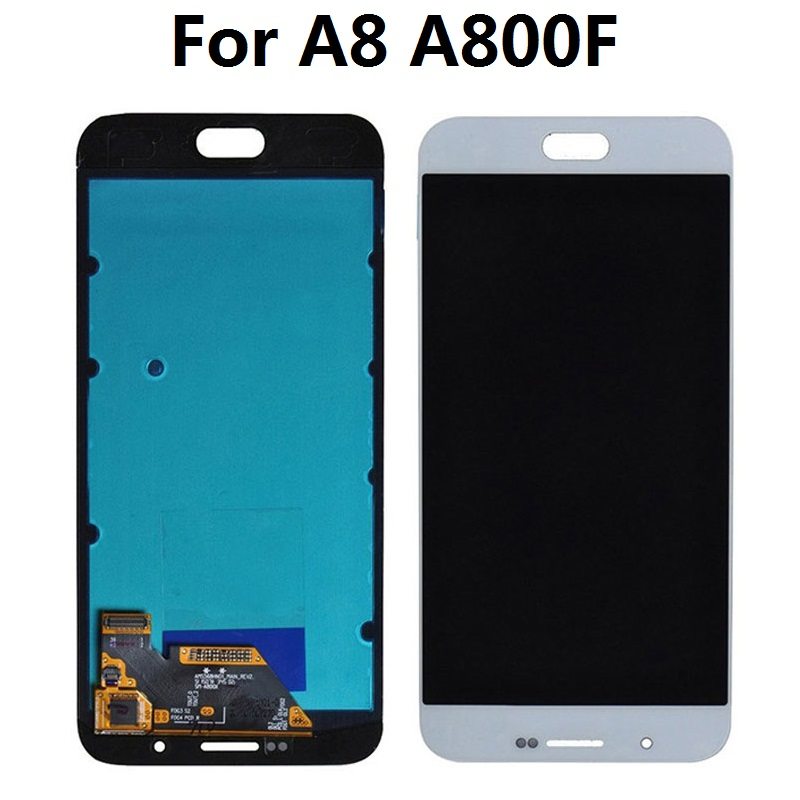 For <font><b>Samsung</b></font> Galaxy A8 <font><b>A8000</b></font> A800 A800F Display LCD Screen Touch Digitizer Sensor Assembly image
