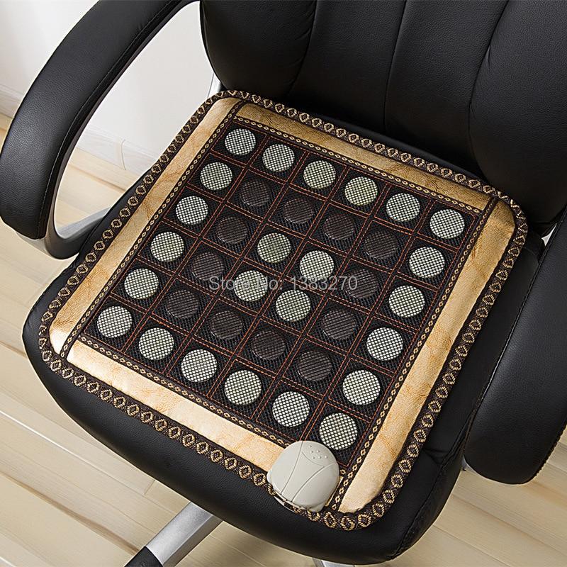 Far infrared health care germanium electric vibrating heated chair cushion sofa jade cushion chair 45X45CM концентрат health