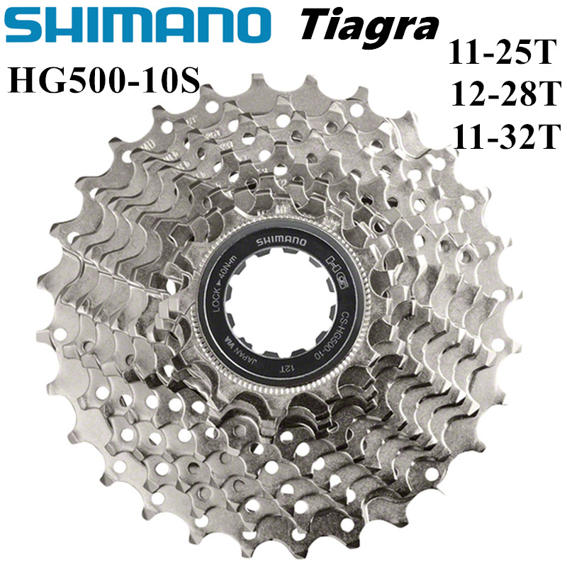 SHIMANO Tiagra HG500-10 Road Bike 10 Speed Freewheels Cogs 11-25 12-28 11-32T 4700 Cassette Sprocket ROAD BICYCLE flywheels
