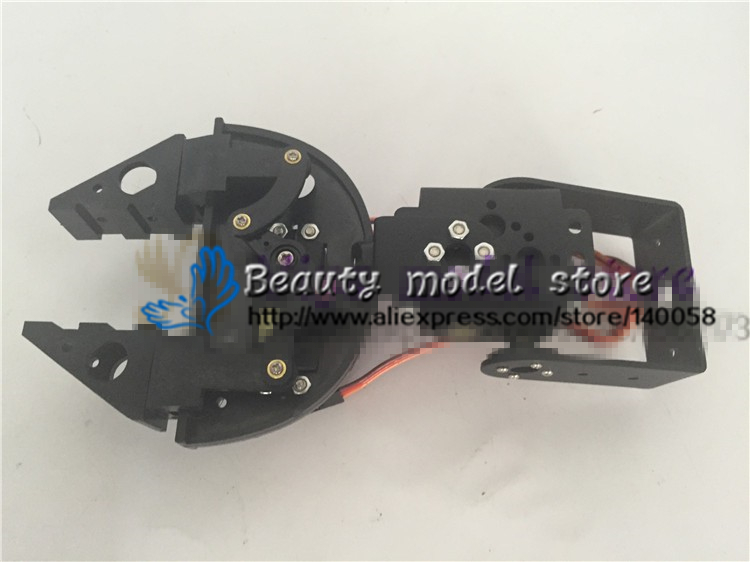 2 DOF Degrees of Freedom Mechanical Arm Robotic Claw Machine Hand Holding Clamp Vehicle Steering kit Accessory Robot MG996 Servo high quality mechanical hand accessories satr holding cylinder mcd 10 belt detection switch star tower pneumatic clamp