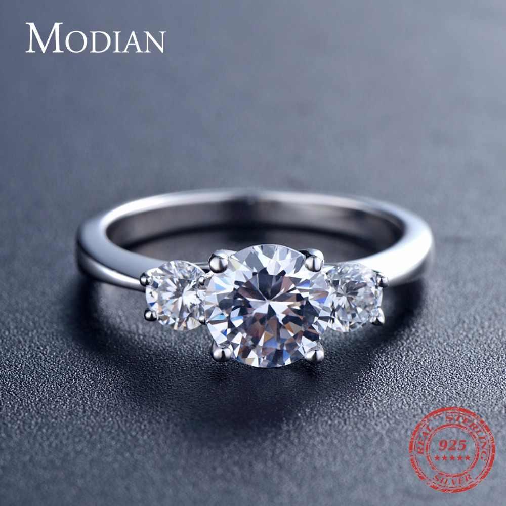2018 ใหม่ 2Ct 925 แหวนเงินสเตอร์ลิงสำหรับสตรี 10 หัวใจ CZ งานแต่งงานแหวนยี่ห้อ O anillos anel aneis คริสตัลขายส่งเครื่องประดับ