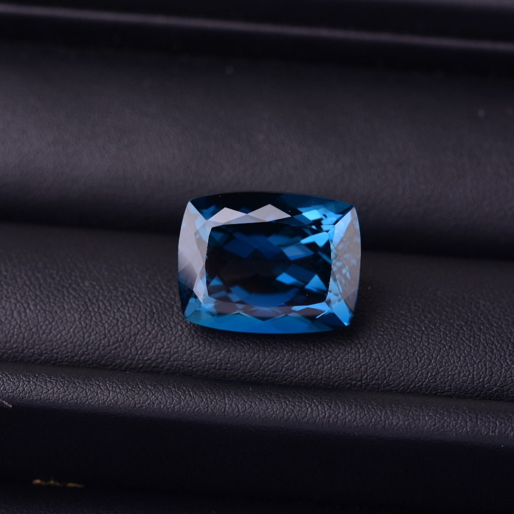 Be Shrewd In Money Matters Fine Jewelry Honest 33.21 Ct Blue Topaz 20.7mm*16.1mm*11.1mm Perfect Quality Gemstones