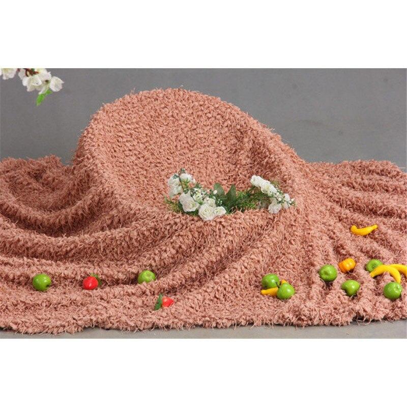 Image 2 - Реквизит для фотосъемки новорожденных, мягкий плюшевый плед, коврик для фотосъемки новорожденных, аксессуары для фотосъемки, корзина для наполнителя, фон 1*1,6 мХлопчатобумажные одеяльца   -