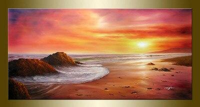 Pintura Original Al Oleo Paisajes Marinas Bestbid Mall E333 In