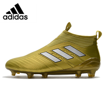 abd0d4189326 Adidas ACE TANGO 17 TF Golden Top With Crushed High Football Shoes BY9143  40-44. US $86.70 / Pair Free Shipping