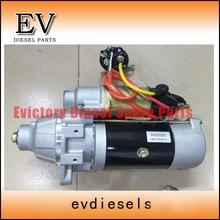 6D14 6D14T starter /start motor for Mitsubishi Fuso truck 6D14 engine kobelco excavator