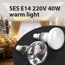 Лампа накаливания E14 отражатель Точечный светильник лампа 220-240 В SES 40 Вт лава лампа теплый белый винт тип лампа накаливания светильник