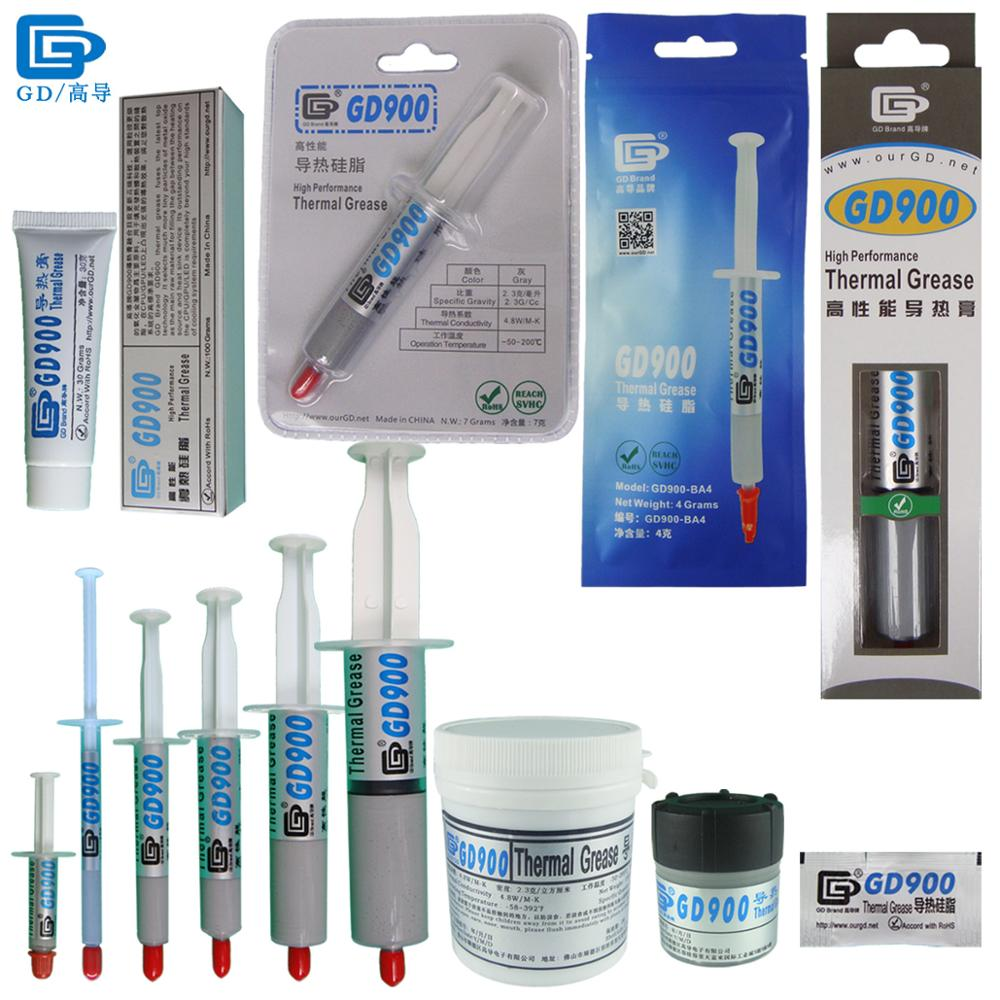Paste Grease përçuese termike GD900 Silicone Grey Compound Silent SY30 SY15 SY7 SY3 SY1 SSY1 BX30 BR7 BA4 ST100 ST30 CN150 CN30 MB305