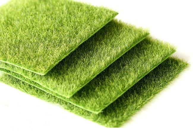 Online Shop Nearly Natural Grass Mat Green Artificial Lawns
