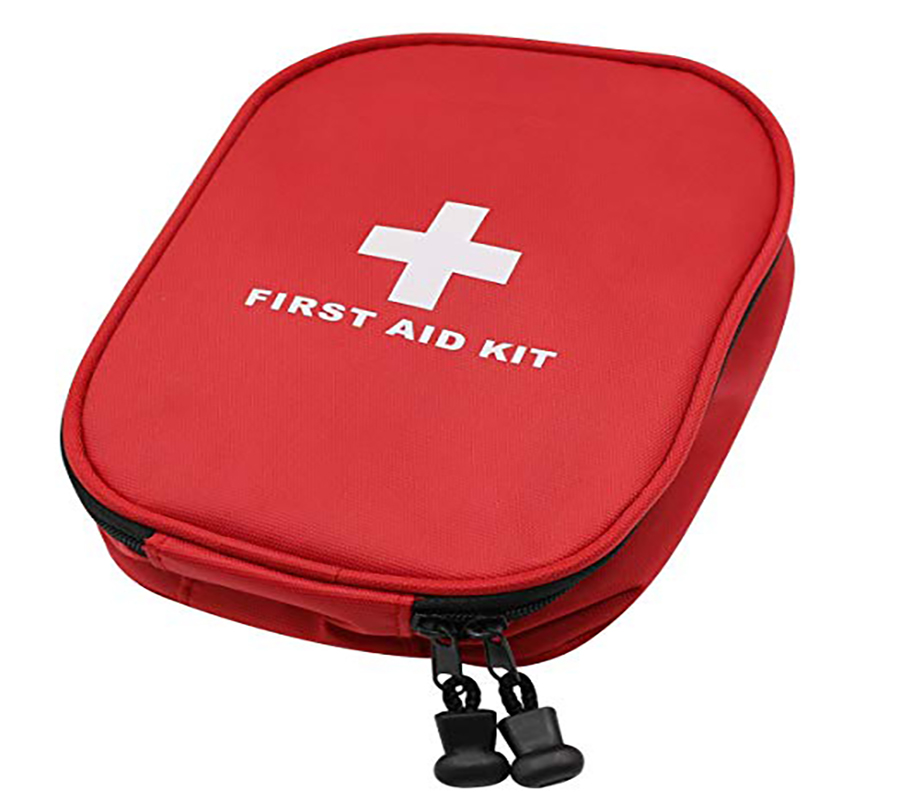 Mini Red First Aid Emergency Survival Kit For Home Office Car Boat Travel Sports Camping Hiking Adventures