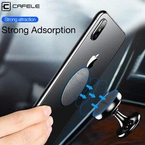 Image 2 - Магнитный автомобильный держатель для телефона Cafele для Xiaomi 9 iPhone X Xs Max, аксессуары для телефонов, подставка для телефона в автомобиле, поддержка мобильных телефонов