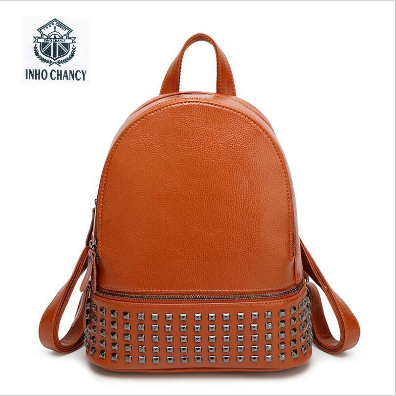 Высокое качество из искусственной кожи Для женщин рюкзак опрятный Fashion Academy ветер Школьные сумки Мини-рюкзаки заклепки молния Для женщин су...