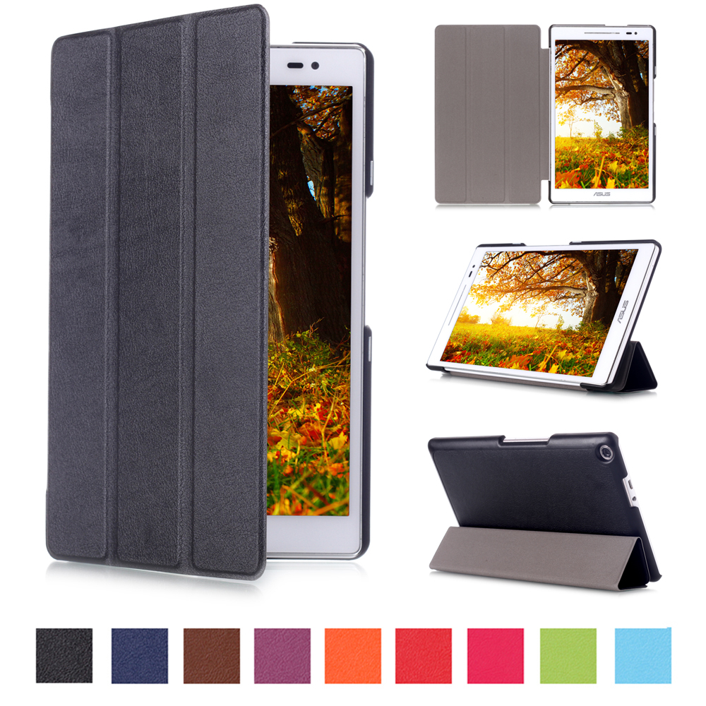 For ASUS ZenPad 8.0 Z380M Tablet Case Flip PU Leather Cover For ASUS ZenPad 8.0 Z380C Slim Stand Cases Capa Funda+Stylus z380m 6b024a