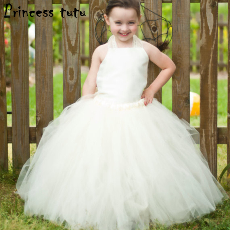 1097bafce351 Quality Handwork Girl Costume Formal Flowers Puffy Girls Dress ...