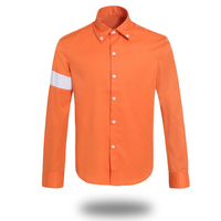 Michael Jackson History Billie Jean Jackets Males Mens Orange White Suit CTE Boys Modern Dance Costumes