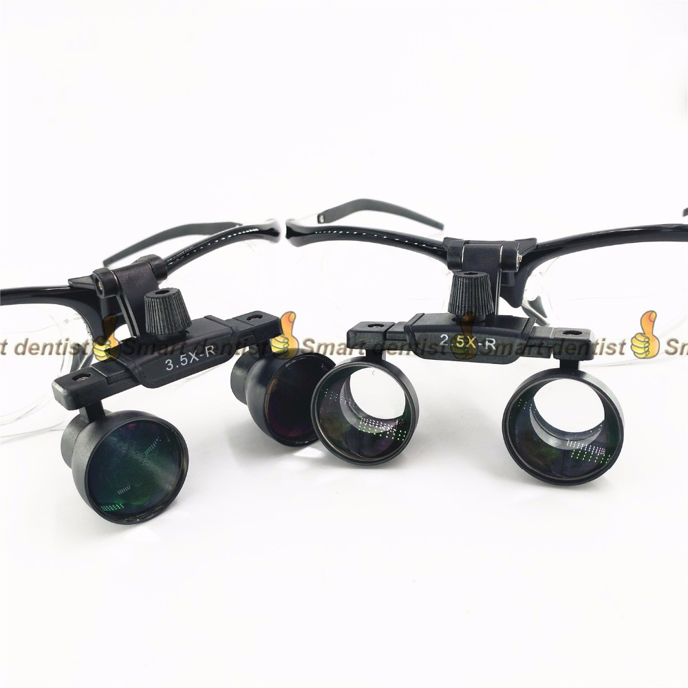 free shipping dental Loupes with inner frame for prescription lens long working distance Galileo surgical Magnifier jakob buhrer galileo galilei
