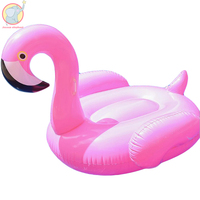 150 cm Pink inflatable Flamingo floats pool Swimming Ring swim circle Air Mattress water toys for child adult kids beach party