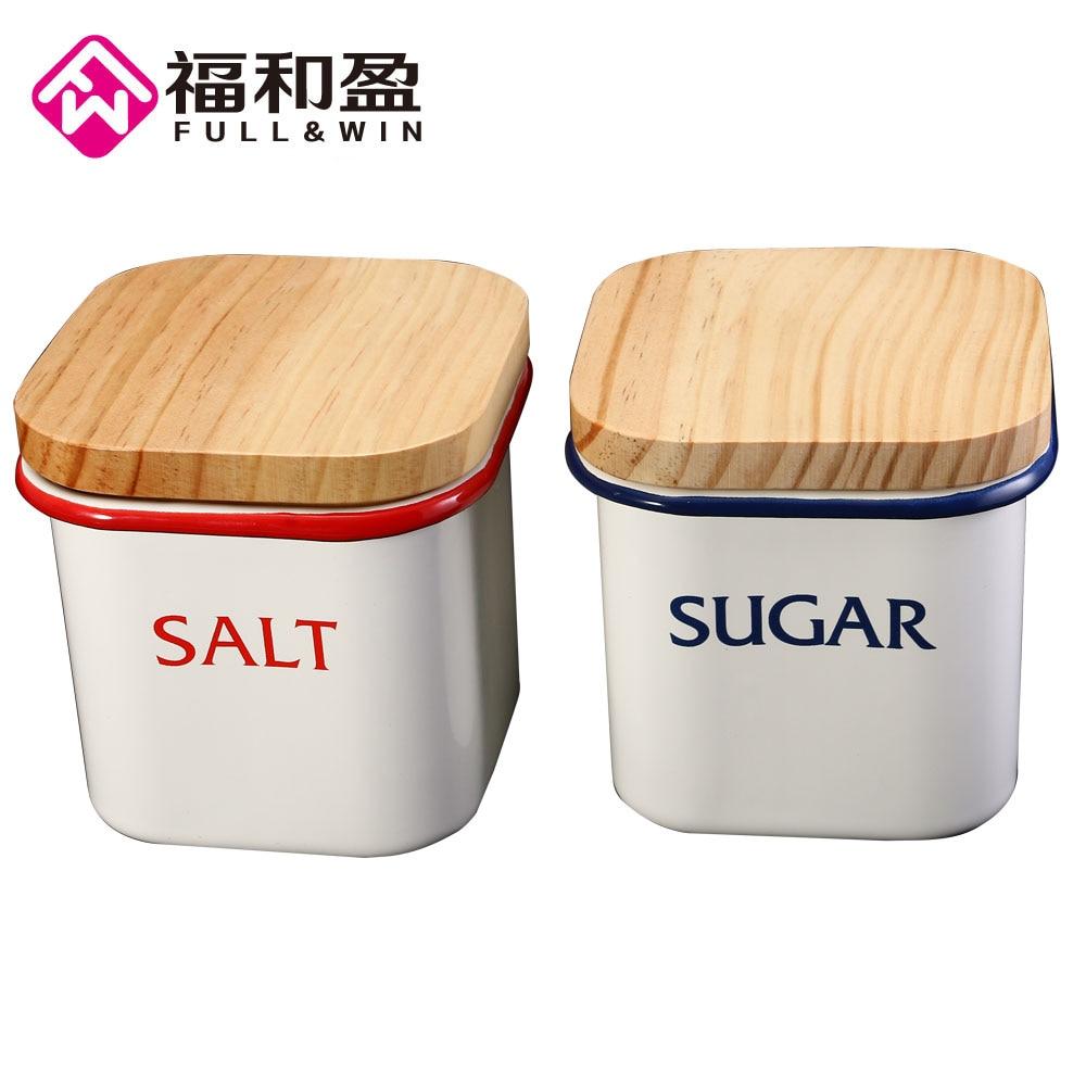 1pcs Square lid Ceramics jarsSealed Small TankChina Storage