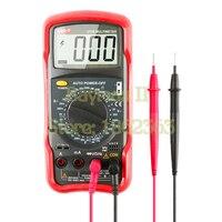 UNI-T UT55 Стандартный цифровой мультиметр AC DC Вольт Ампер Ом Кепки Гц температура тестер Новый