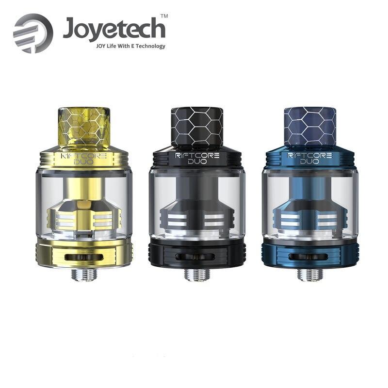 D'origine Joyetech Riftcore Duo 26mm RTA Réservoir Atomiseur 3.5 ml Capacité RFC Chauffe-Autonettoyant Électronique Cigaratte Vaporisateur Vaporisateur