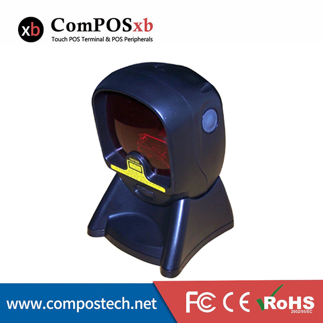 Cheapest Omni Directional Barcode Scanner In POS System With USB, RS232,Keyboard Wedge Mechanical