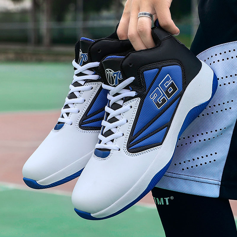 Men's Basketball Shoes Trend Outdoor Comfortable Sports Shoes Brand High Quality Waterproof Sneakers Adult Breathable Non-slip