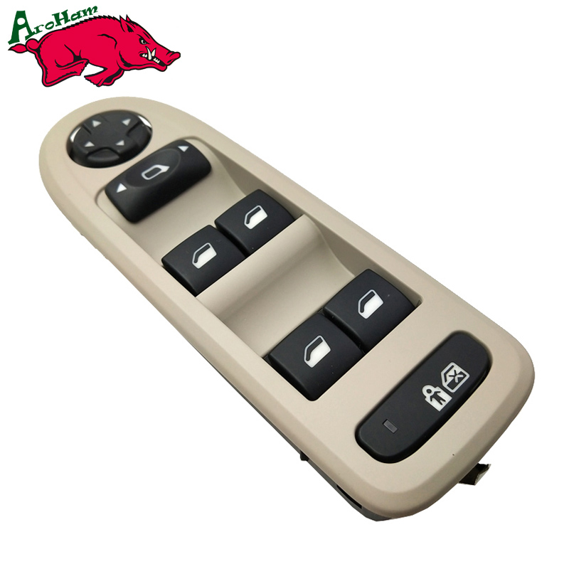 96644915 For Peugeot 308/508/C5 5 Door Hatchback Wagon Master Window Switch 2008-2013 Power Window Switch 30170396 98054508ZD power window lifter switch for mazda6 hatchback gh estate 2007 2008 for electric mirror adjustment switch gs1e 66 350 a
