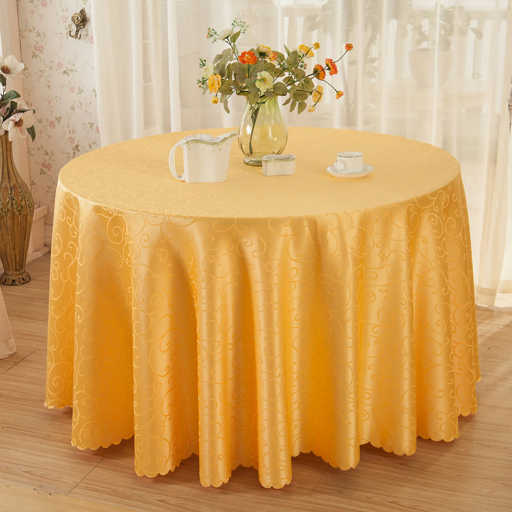 Multi Size Crocheted Vine Flower Hotel Round Table Cloth Restaurant  Rectangular Polyester Tablecloth Home Decoration Table Cover In Tablecloths  From Home ...