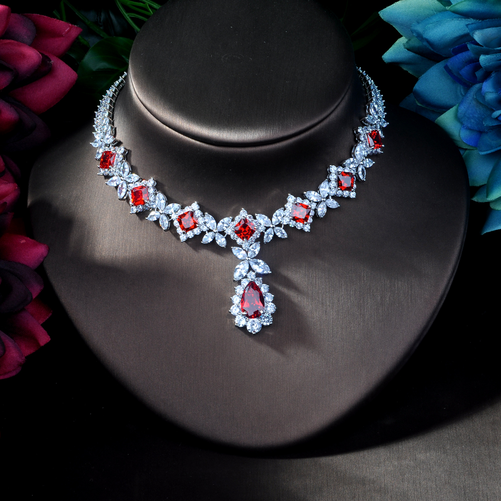 Image 4 - HIBRIDE Hotsale African 4pcs Bridal Jewelry Sets New Fashion 