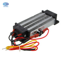 Electric Ceramic Thermostatic PTC Heating Element Heater Surface Insulation Constant Temperature Air Heating AC 220V 500W