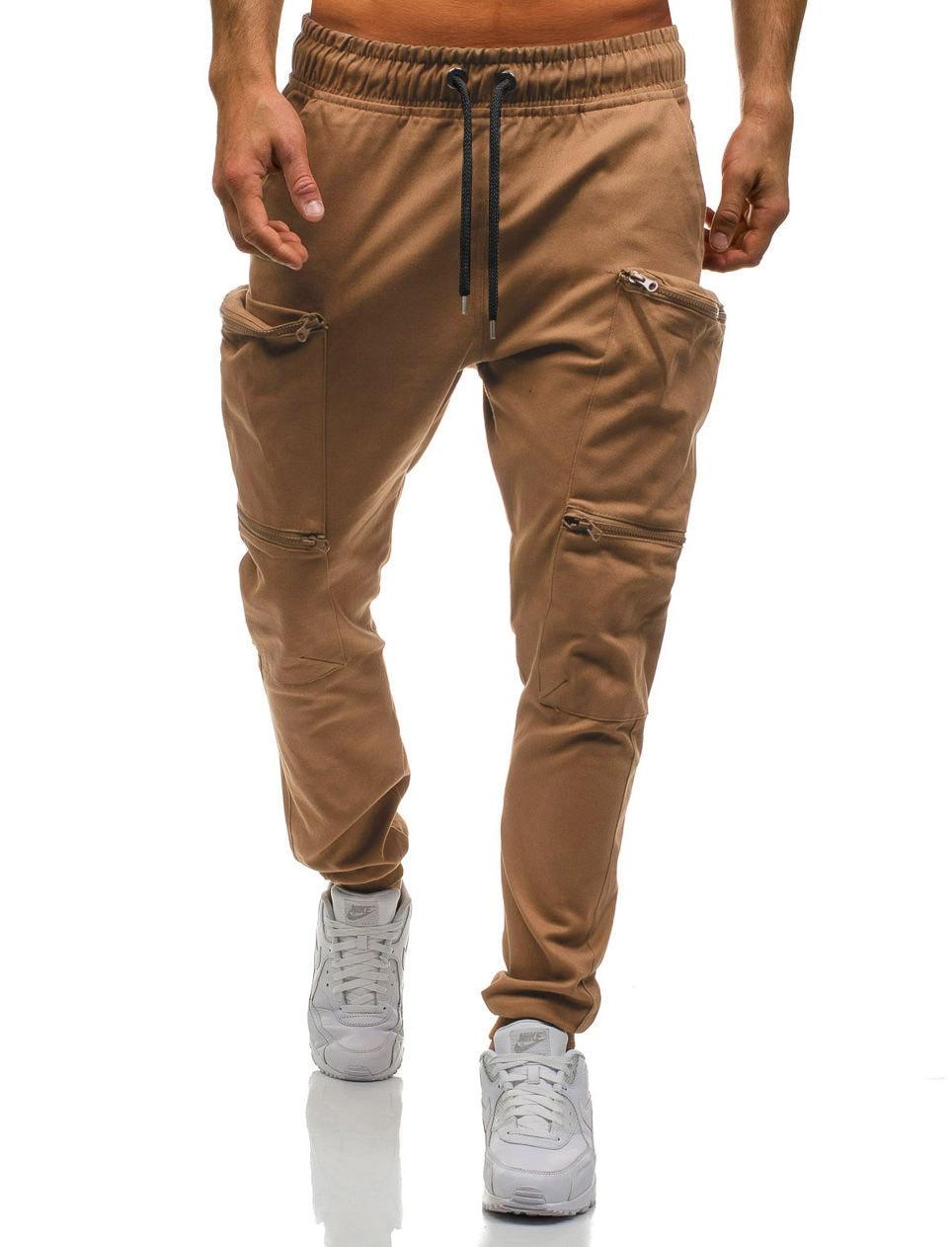 HTB1 1zqL7voK1RjSZFwq6AiCFXaB Mens Joggers 2019 New Red Camouflage Multi-Pockets Cargo Pants Men Cotton Harem Pants Hip Hop Trousers Streetwear XXXL