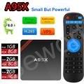 2 gb de ram 16 gb amlogic s905x a95x nexbox android 6.0 smart tv caja de 1G/8G 2G/8G Quad-core KODI 16.1 4 K H.265 IPTV Reproductor de medios
