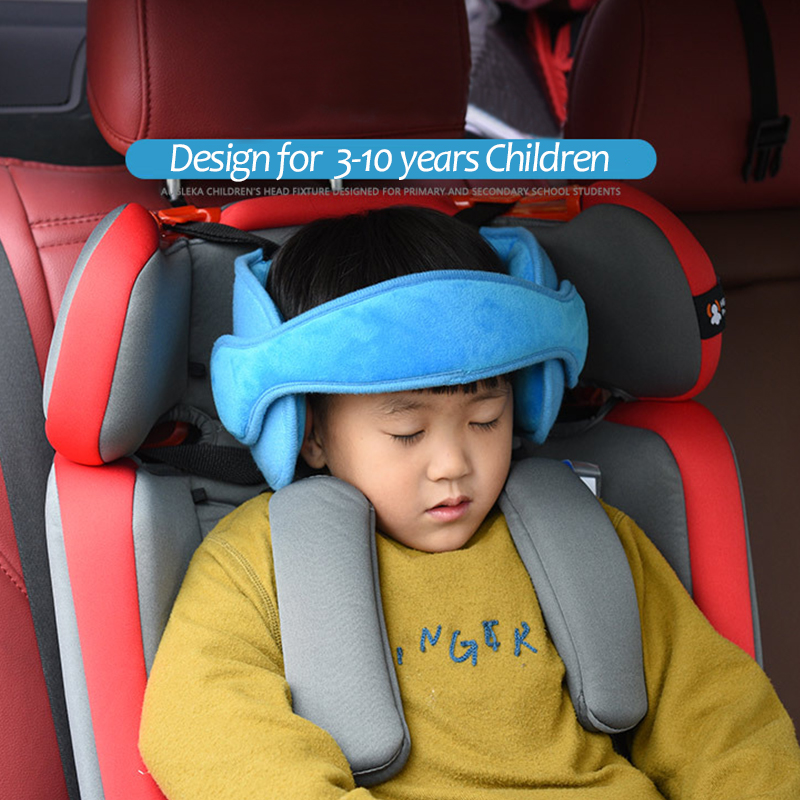Us 2 89 42 Off Baby Kids Boy Head Neck Support Car Seat Belt Safety Headrest Pillow Pad Protector Uni Soft Caushion In