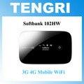 Оригинал Разблокирован Softbank 102HW (Huawei) УЛЬТРА WiFi 4 Г 4 Г Мобильного Широкополосного Устройства Wi-Fi Маршрутизатор