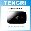 Original Unlocked Softbank 102HW (HuaWei) ULTRA WiFi 4G 4G Mobile Broadband Device WiFi Router