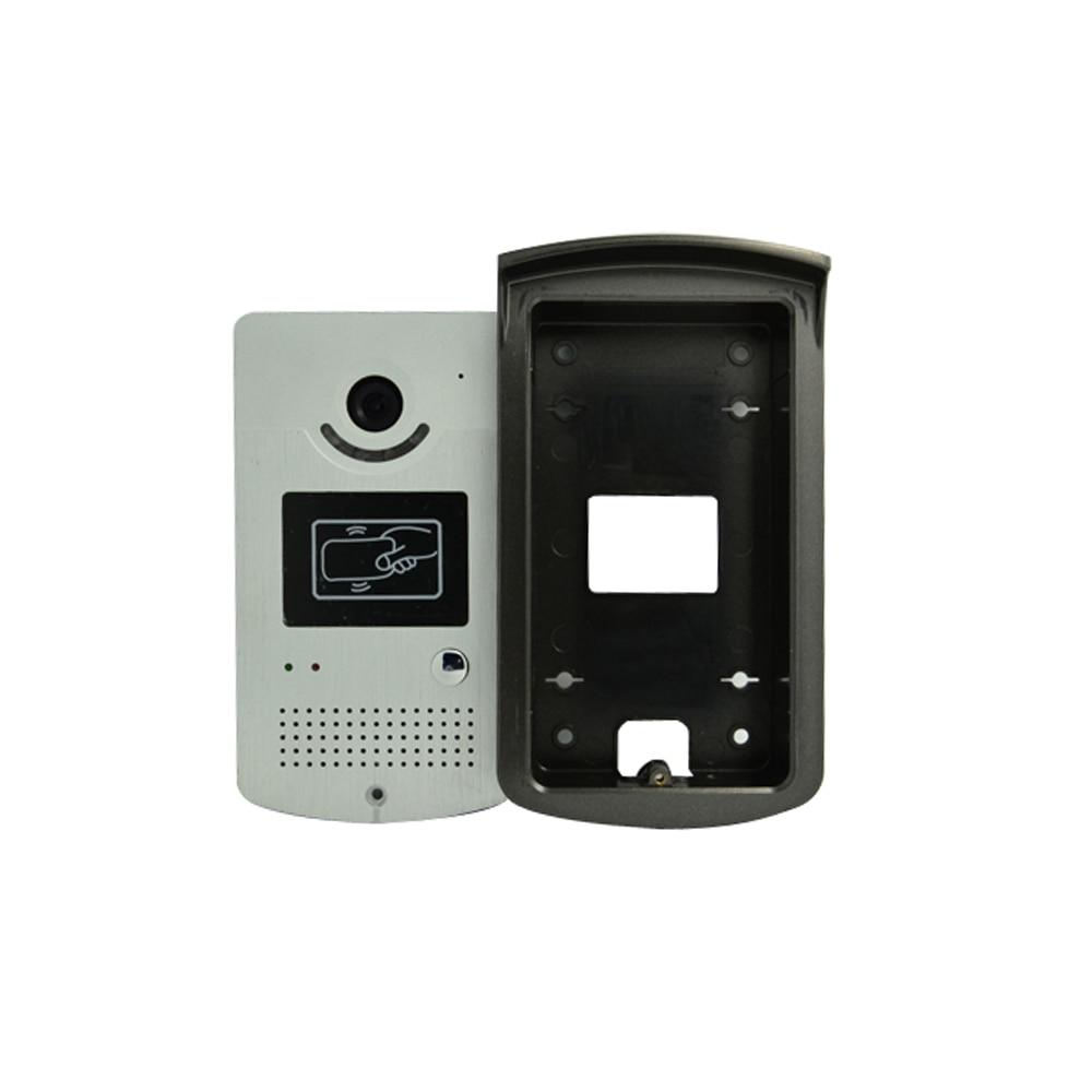 Hot Sale 1 To 1 7 Inch Screen Rfid Card Door Unlock Video Door Phone
