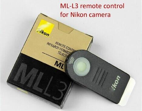 שלט רחוק אינפרא אדום-אוויר חופשי-L3 ML עבור ניקון D40 D50 D60 D70 D80 D90 D3200 D5100 D5200 D7100 D7000 J1 V1 שלט רחוק ir