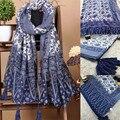 Marca novas mulheres Cachecol Tippet Bufandas Oversized Étnico Algodão Outono Inverno Lenços de Moda Echarpe 2016 Presente 1 pcs