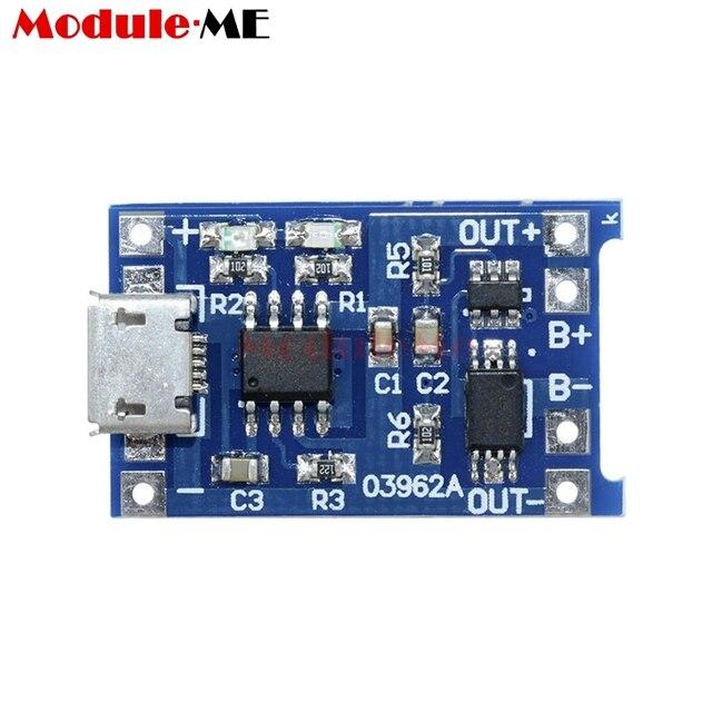 Chargement USB 5-PCS-Micro-USB-5-V-1A-18650-TP4056-Batterie-Au-Lithium-Chargeur-Module-De-Charge.jpg_640x640