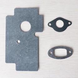 2 sets Paper gasket kit fit Chinese 2500 25cc Chain Saw Zenoah Komatsu 2500 Spares Parts Small Chainsaw