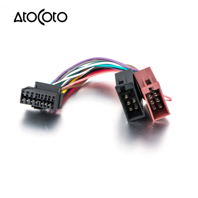 ISO Standard Plug Wiring Harness for Sony CDX MEX DSX WX Car CD Radio Audio Stereo_640x640 aliexpress com buy iso standard plug wiring harness for sony cdx sony wiring harness at crackthecode.co