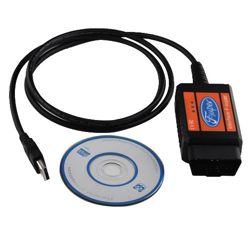 Usb lector de código de diagnóstico escáner Scan Cable Tool para Ford + envío gratuito