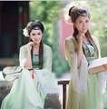 Traditional Chinese tang style Hanfu women's hanfu tang suit costume for adult girls kids child