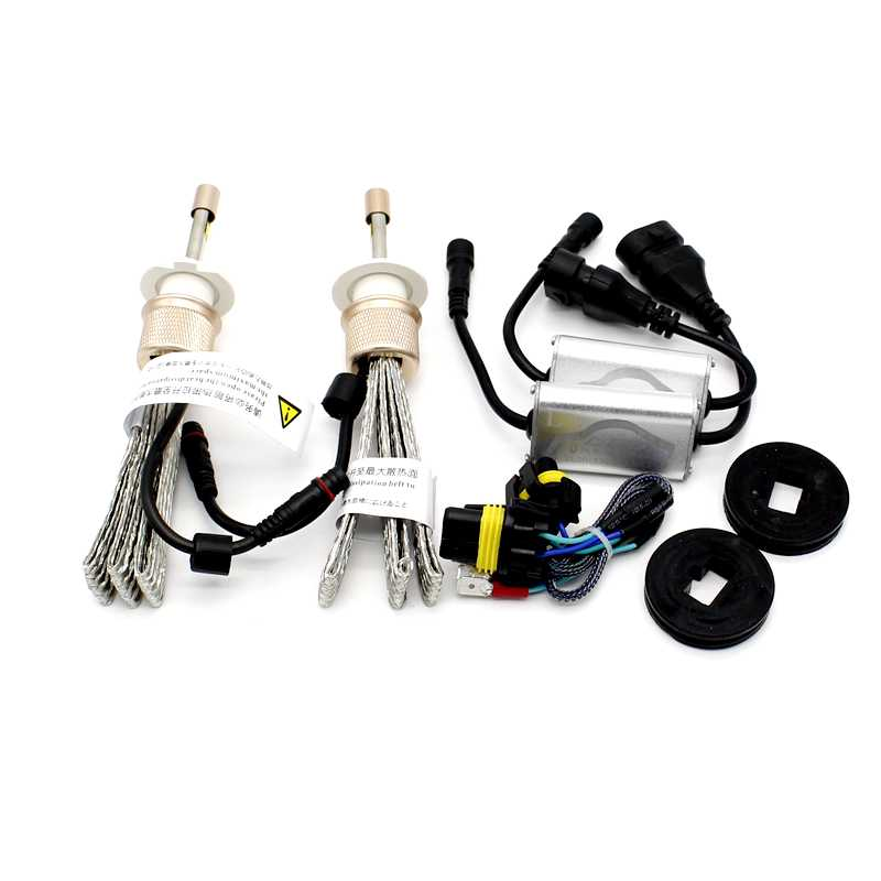 Tak Wai Lee 2X Dua Warna NS LED Headlight Mobil Styling Sumber 40 W - Lampu mobil - Foto 3