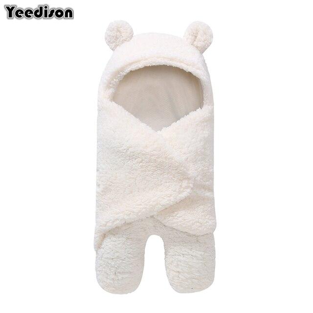 0-12 أشهر الخريف طفل كيس النوم المغلف للطفل حديث الولادة الشتاء قماط بطانية للف الرضع لطيف النوم أكياس الصلبة الطفل الفراش