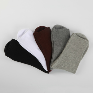 Image 2 - 5 paren/partij Mannen Sokken Katoen Lange Goede Kwaliteit Business Harajuku Diabetische Pluizige Sokken Meias Masculino Calcetines geen doos