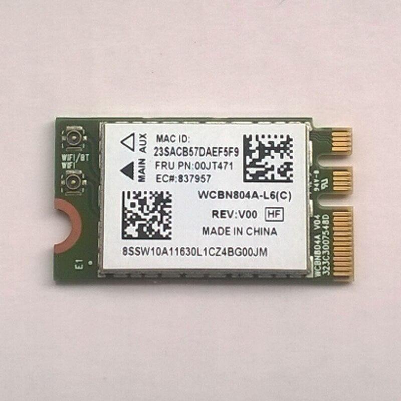 New / Orig Atheros QCNFA34AC NFA344 2x2AC + BT4.0 PCIE M.2 WLAN V2 Lenovo Yoga 3 14 Yoga 3-1470 Series, FRU 00JT471, SW10A11630