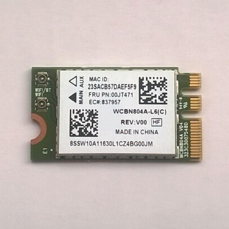 Új / Orig Atheros QCNFA34AC NFA344 2x2AC + BT4.0 PCIE M.2 WLAN V2 Lenovo jóga 3 14 jóga 3-1470 sorozat, FRU 00JT471, SW10A11630