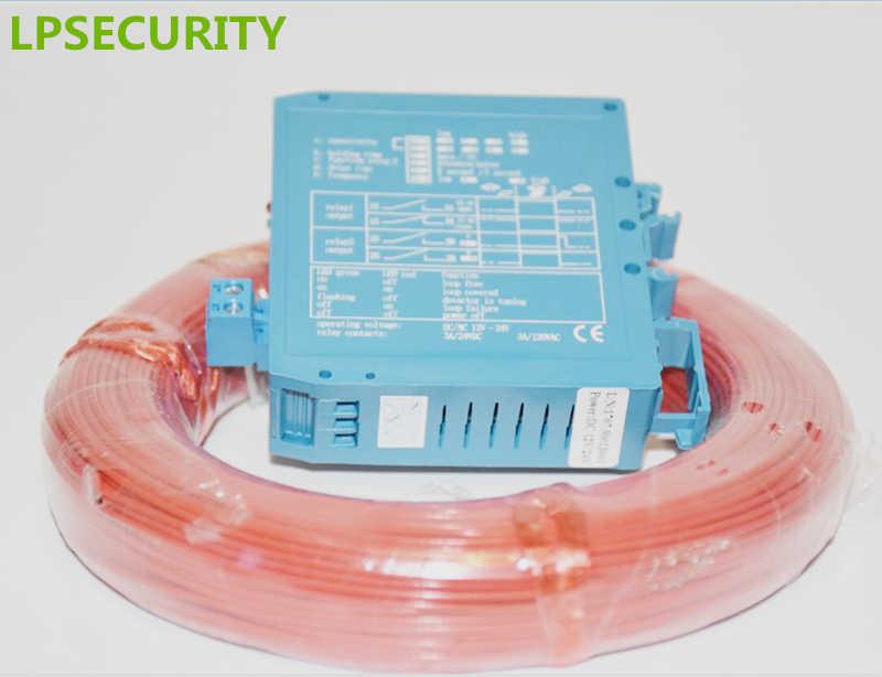 LPSECURITY 50m kabel 12V 24V DC indukcyjny detektor pętli indukcyjnej pojazdu czujniki dla liftmaster PPA ROSSI JSST FUJICA bariera otwieracz bramy