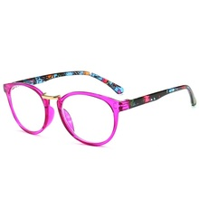 LONSY модные круглые очки для чтения женщин и мужчин бренд Винтаж бизнес дальнозоркость Рецептурные очки+ 100+ 200+ 300+ 400